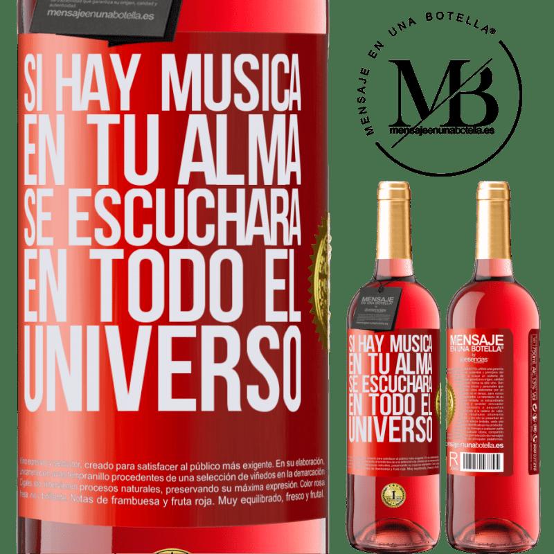 24,95 € Envoi gratuit   Vin rosé Édition ROSÉ S'il y a de la musique dans votre âme, elle sera entendue dans l'univers Étiquette Rouge. Étiquette personnalisable Vin jeune Récolte 2020 Tempranillo