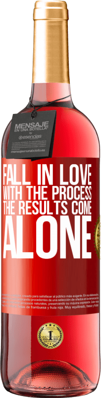 24,95 € Free Shipping | Rosé Wine ROSÉ Edition Fall in love with the process, the results come alone Red Label. Customizable label Young wine Harvest 2020 Tempranillo