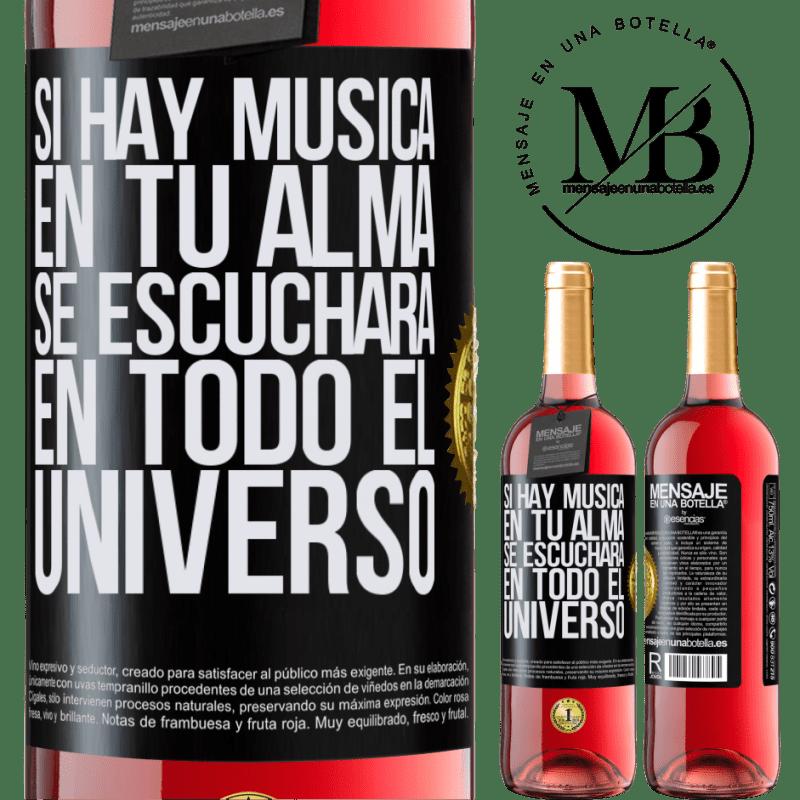 24,95 € Envoi gratuit   Vin rosé Édition ROSÉ S'il y a de la musique dans votre âme, elle sera entendue dans l'univers Étiquette Noire. Étiquette personnalisable Vin jeune Récolte 2020 Tempranillo