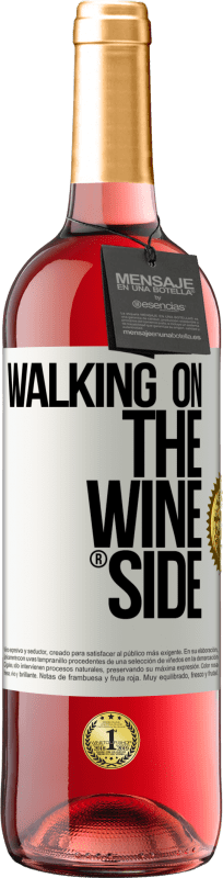 24,95 € | Rosé Wine ROSÉ Edition Walking on the Wine Side® White Label. Customizable label Young wine Harvest 2020 Tempranillo