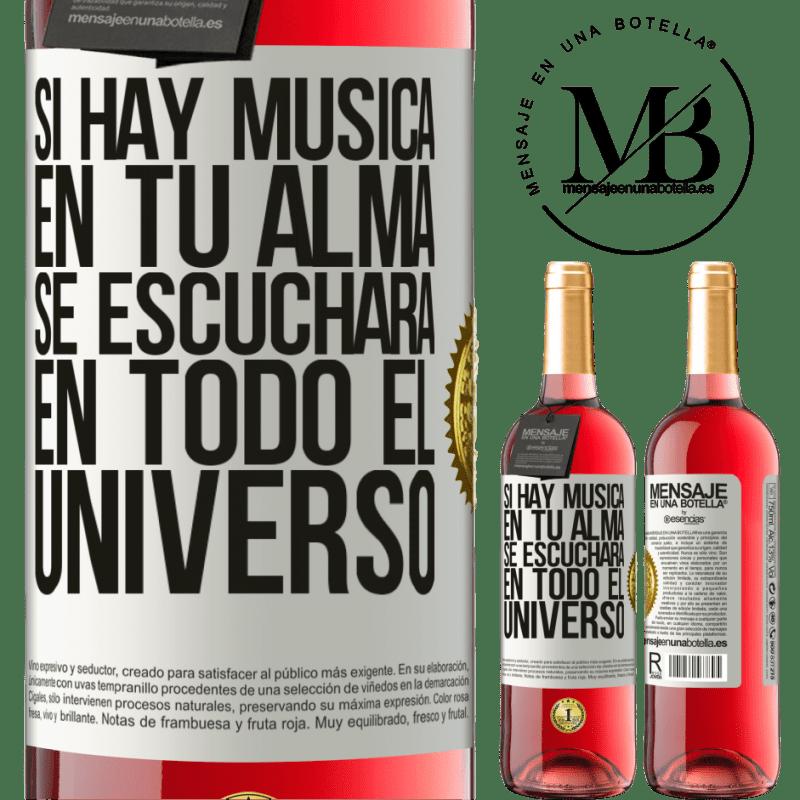 24,95 € Envoi gratuit   Vin rosé Édition ROSÉ S'il y a de la musique dans votre âme, elle sera entendue dans l'univers Étiquette Blanche. Étiquette personnalisable Vin jeune Récolte 2020 Tempranillo