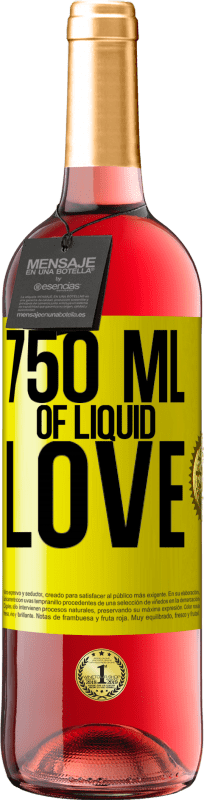 24,95 € | Rosé Wine ROSÉ Edition 750 ml of liquid love Yellow Label. Customizable label Young wine Harvest 2020 Tempranillo