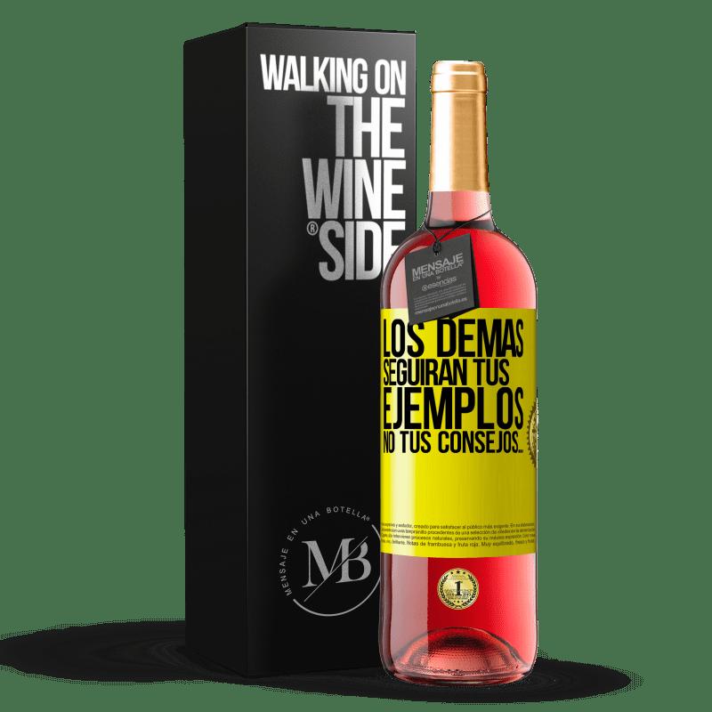 24,95 € Envoi gratuit   Vin rosé Édition ROSÉ Les autres suivront vos exemples, pas vos conseils Étiquette Jaune. Étiquette personnalisable Vin jeune Récolte 2020 Tempranillo