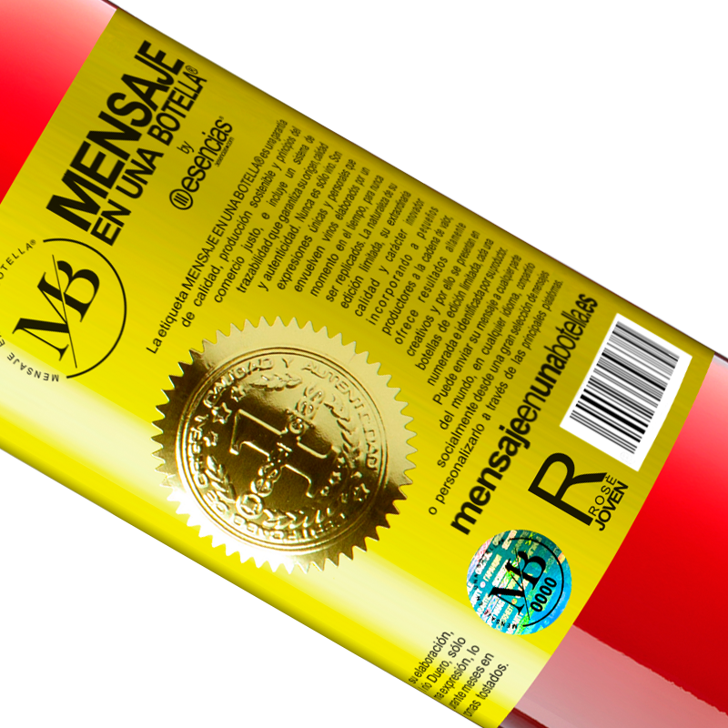 Édition Limitée. «Prévision: 99% de chances de vin» Édition ROSÉ