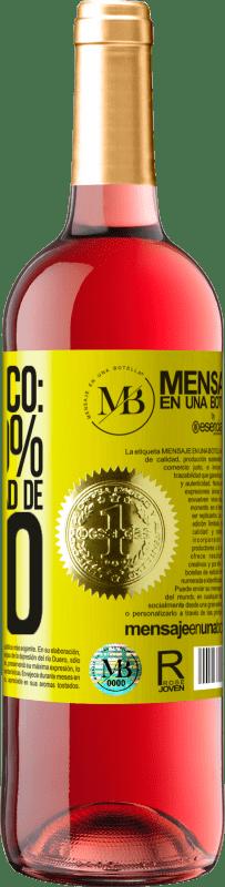 «Prévision: 99% de chances de vin» Édition ROSÉ