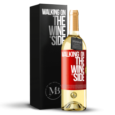 «Walking on the Wine Side®» Édition WHITE