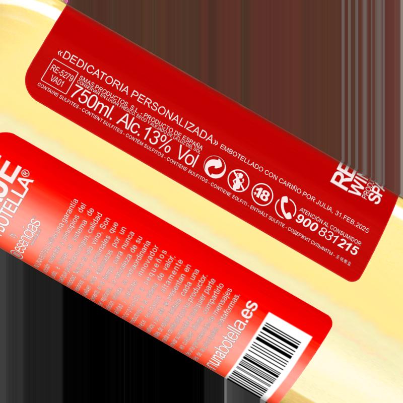 Total traceability. «Del EX al NEXT en un sorbo» WHITE Edition
