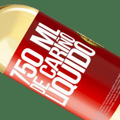 Expressions Uniques et Personnelles. «750 ml d'amour liquide» Édition WHITE