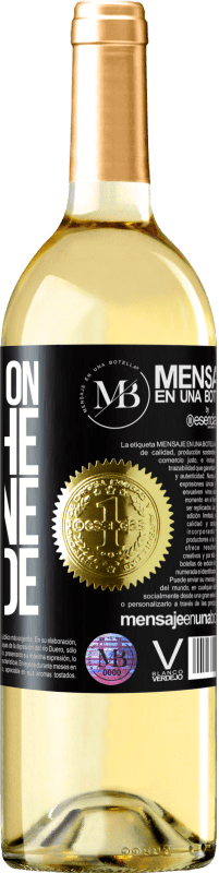 «Walking on the Wine Side®» Edición WHITE