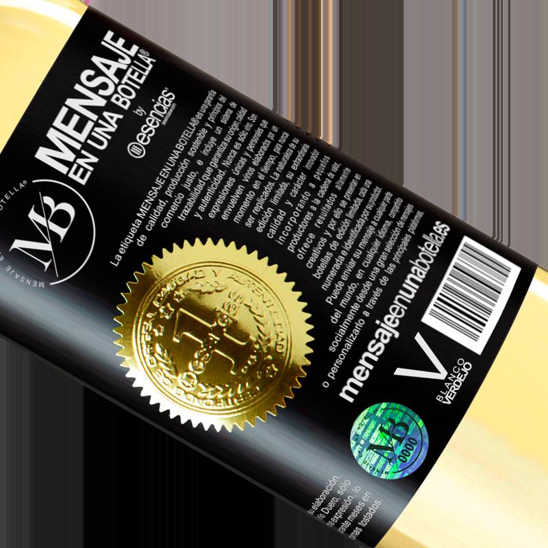 Edición Limitada. «750 ml. de cariño líquido» Edición WHITE