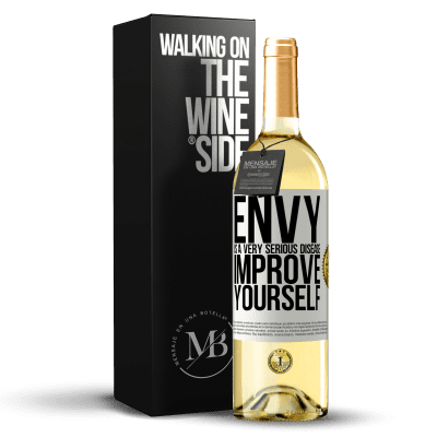 «Envy is a very serious disease, improve yourself» WHITE Edition