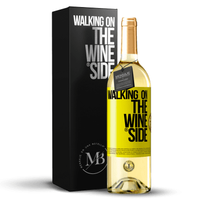 «Walking on the Wine Side®» WHITE Edition