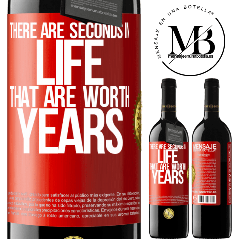 24,95 € Free Shipping   Red Wine RED Edition Crianza 6 Months There are seconds in life that are worth years Red Label. Customizable label Aging in oak barrels 6 Months Harvest 2018 Tempranillo