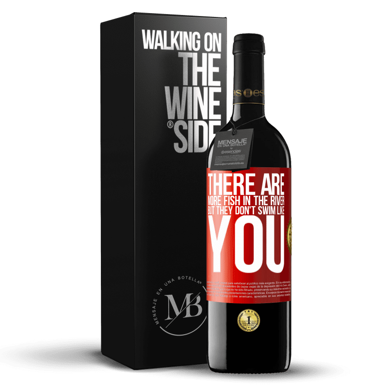 24,95 € Free Shipping   Red Wine RED Edition Crianza 6 Months There are more fish in the river, but they don't swim like you Red Label. Customizable label Aging in oak barrels 6 Months Harvest 2018 Tempranillo