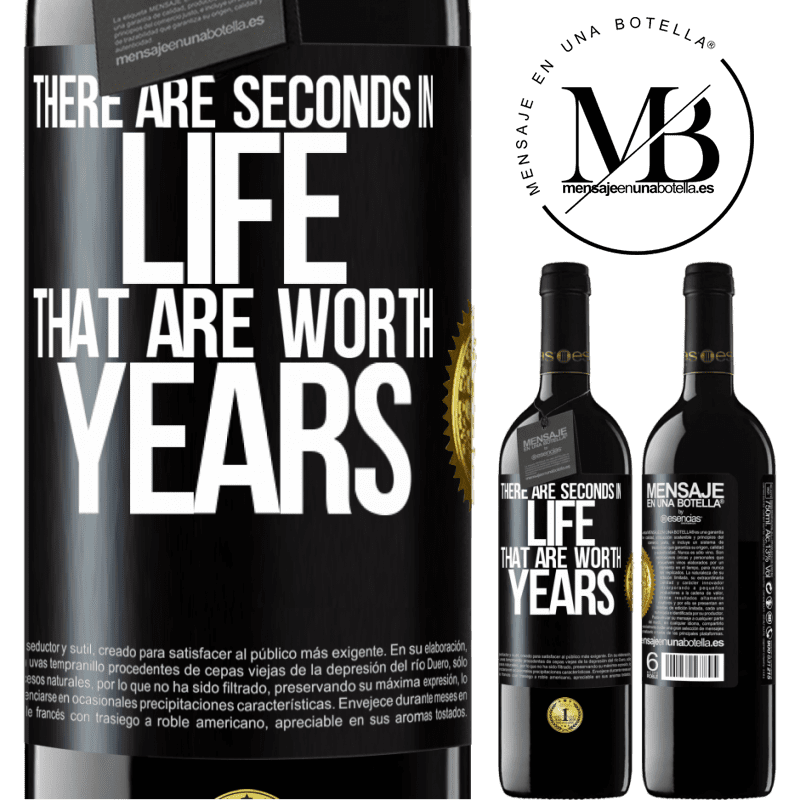 24,95 € Free Shipping   Red Wine RED Edition Crianza 6 Months There are seconds in life that are worth years Black Label. Customizable label Aging in oak barrels 6 Months Harvest 2018 Tempranillo