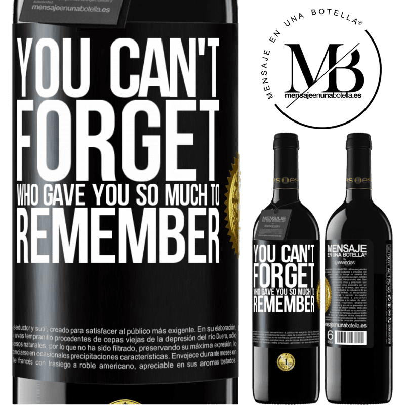 24,95 € Free Shipping | Red Wine RED Edition Crianza 6 Months You can't forget who gave you so much to remember Black Label. Customizable label Aging in oak barrels 6 Months Harvest 2018 Tempranillo