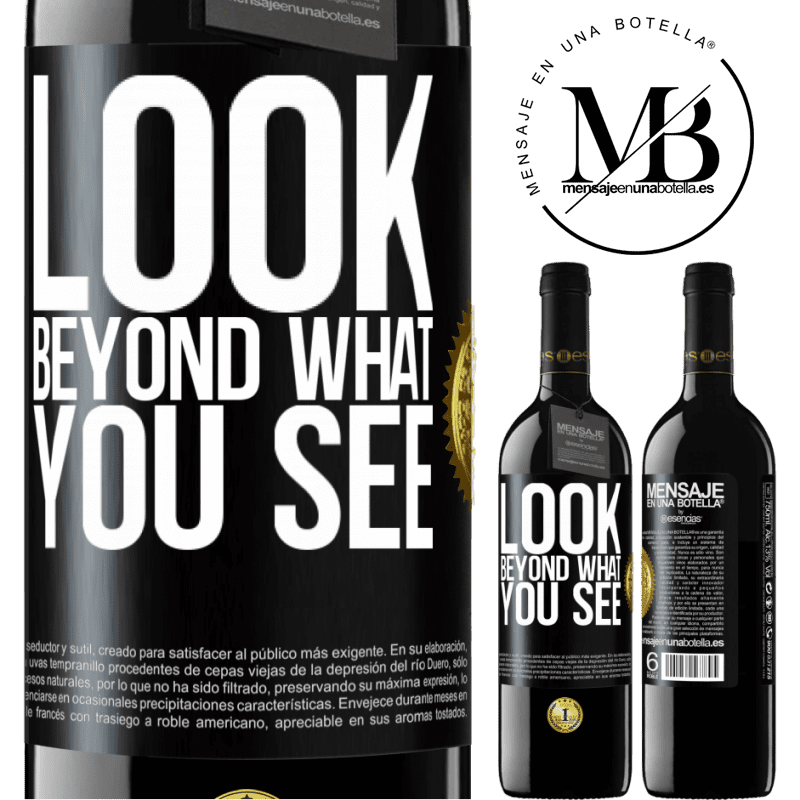 24,95 € Free Shipping | Red Wine RED Edition Crianza 6 Months Look beyond what you see Black Label. Customizable label Aging in oak barrels 6 Months Harvest 2018 Tempranillo