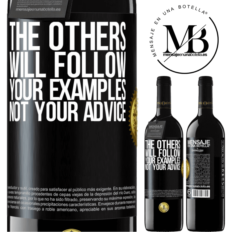 24,95 € Free Shipping | Red Wine RED Edition Crianza 6 Months The others will follow your examples, not your advice Black Label. Customizable label Aging in oak barrels 6 Months Harvest 2018 Tempranillo
