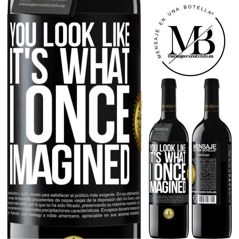 24,95 € Free Shipping | Red Wine RED Edition Crianza 6 Months You look like it's what I once imagined Black Label. Customizable label Aging in oak barrels 6 Months Harvest 2018 Tempranillo