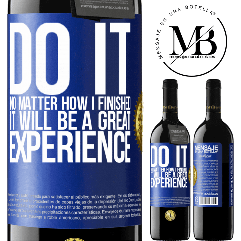 24,95 € Free Shipping | Red Wine RED Edition Crianza 6 Months Do it, no matter how I finished, it will be a great experience Blue Label. Customizable label Aging in oak barrels 6 Months Harvest 2018 Tempranillo