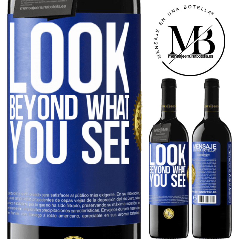 24,95 € Free Shipping | Red Wine RED Edition Crianza 6 Months Look beyond what you see Blue Label. Customizable label Aging in oak barrels 6 Months Harvest 2018 Tempranillo