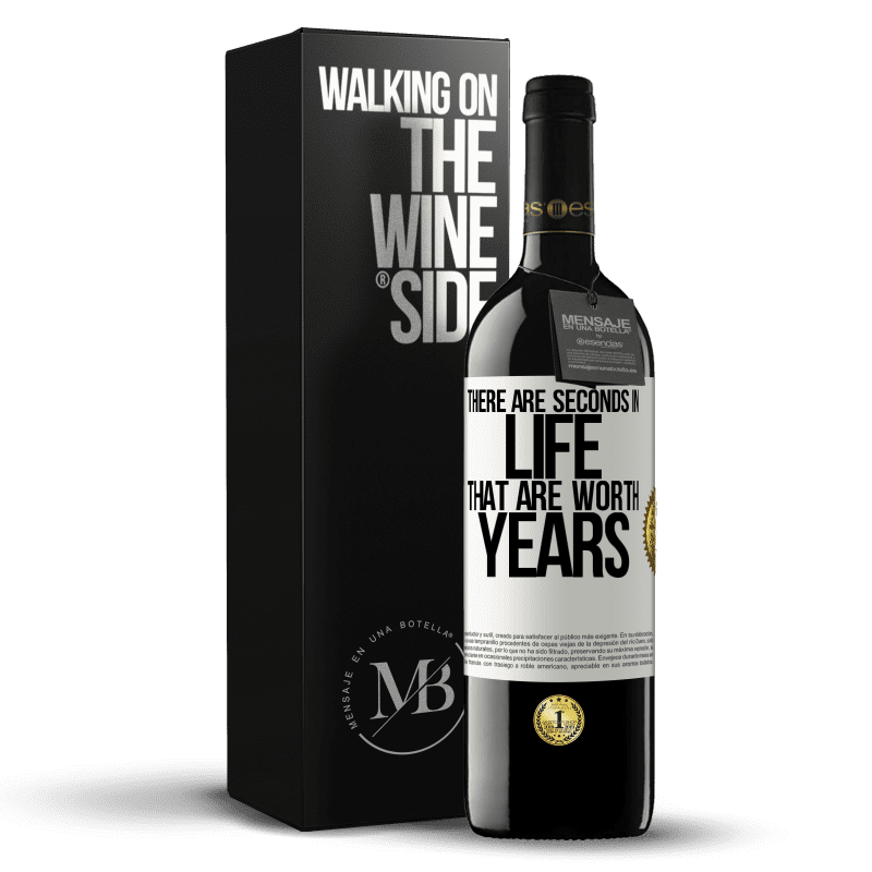 24,95 € Free Shipping   Red Wine RED Edition Crianza 6 Months There are seconds in life that are worth years White Label. Customizable label Aging in oak barrels 6 Months Harvest 2018 Tempranillo