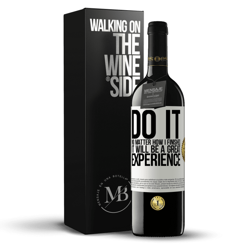 24,95 € Free Shipping | Red Wine RED Edition Crianza 6 Months Do it, no matter how I finished, it will be a great experience White Label. Customizable label Aging in oak barrels 6 Months Harvest 2018 Tempranillo