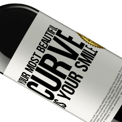 Unique & Personal Expressions. «Your most beautiful curve is your smile» RED Edition Crianza 6 Months