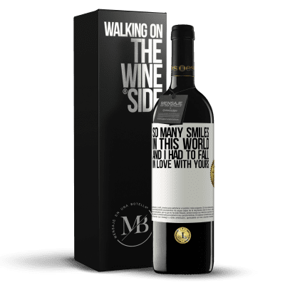 «So many smiles in this world, and I had to fall in love with yours» RED Edition Crianza 6 Months