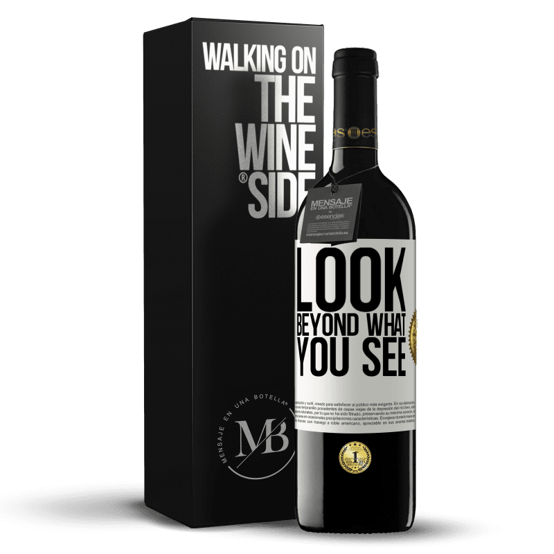 24,95 € Free Shipping | Red Wine RED Edition Crianza 6 Months Look beyond what you see White Label. Customizable label Aging in oak barrels 6 Months Harvest 2018 Tempranillo