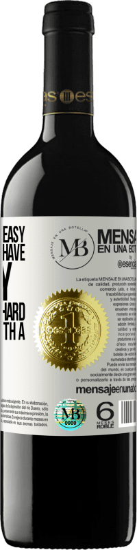 «Remembering is easy for those who have memory. Forgetting is hard for the one with a heart» RED Edition Crianza 6 Months