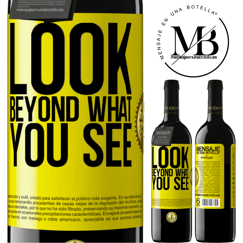 24,95 € Free Shipping | Red Wine RED Edition Crianza 6 Months Look beyond what you see Yellow Label. Customizable label Aging in oak barrels 6 Months Harvest 2018 Tempranillo
