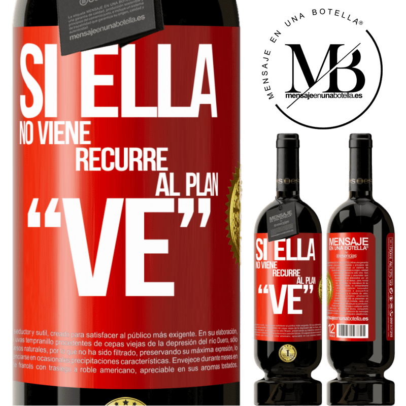 29,95 € Free Shipping   Red Wine Premium Edition MBS® Reserva Si ella no viene, recurre al plan VE Red Label. Customizable label Reserva 12 Months Harvest 2013 Tempranillo