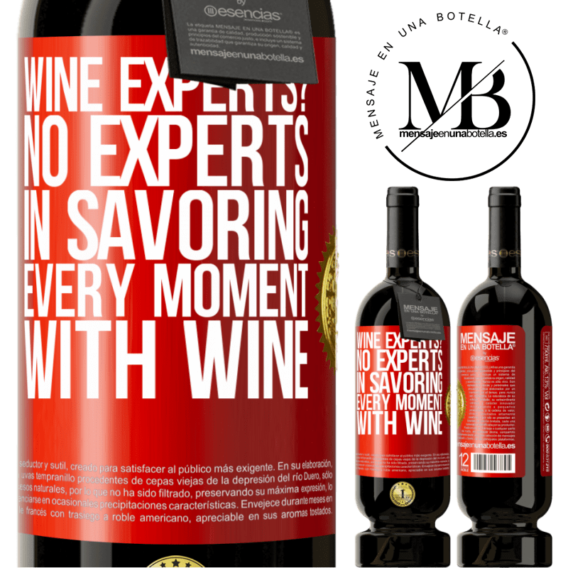 29,95 € Free Shipping | Red Wine Premium Edition MBS® Reserva wine experts? No, experts in savoring every moment, with wine Red Label. Customizable label Reserva 12 Months Harvest 2013 Tempranillo