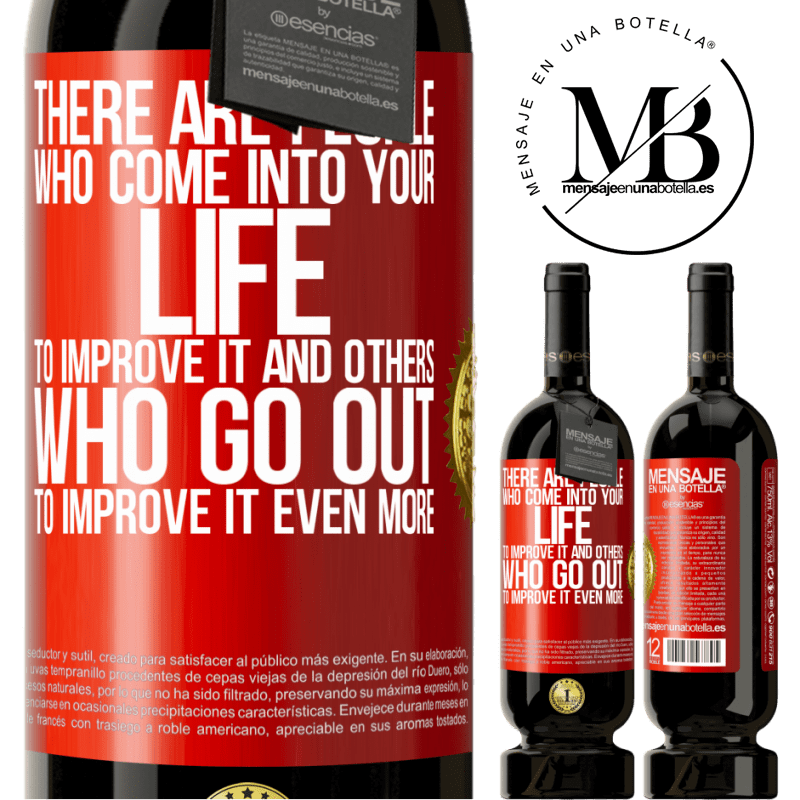 29,95 € Free Shipping | Red Wine Premium Edition MBS® Reserva There are people who come into your life to improve it and others who go out to improve it even more Red Label. Customizable label Reserva 12 Months Harvest 2013 Tempranillo