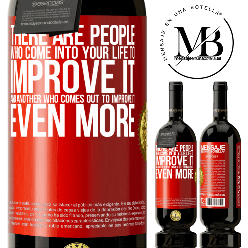 29,95 € Free Shipping | Red Wine Premium Edition MBS® Reserva There are people who come into your life to improve it and another who comes out to improve it even more Red Label. Customizable label Reserva 12 Months Harvest 2013 Tempranillo