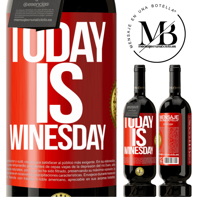29,95 € Free Shipping | Red Wine Premium Edition MBS® Reserva Today is winesday! Red Label. Customizable label Reserva 12 Months Harvest 2013 Tempranillo