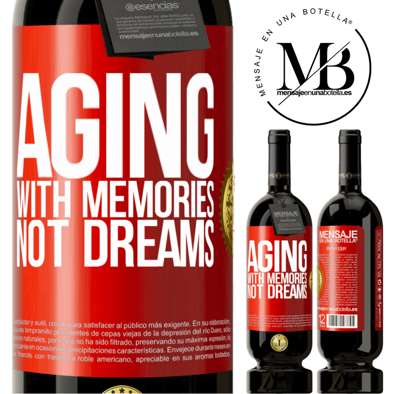 29,95 € Free Shipping | Red Wine Premium Edition MBS® Reserva Aging with memories, not dreams Red Label. Customizable label Reserva 12 Months Harvest 2013 Tempranillo