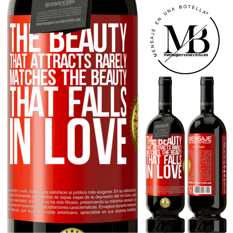 29,95 € Free Shipping | Red Wine Premium Edition MBS® Reserva The beauty that attracts rarely matches the beauty that falls in love Red Label. Customizable label Reserva 12 Months Harvest 2013 Tempranillo