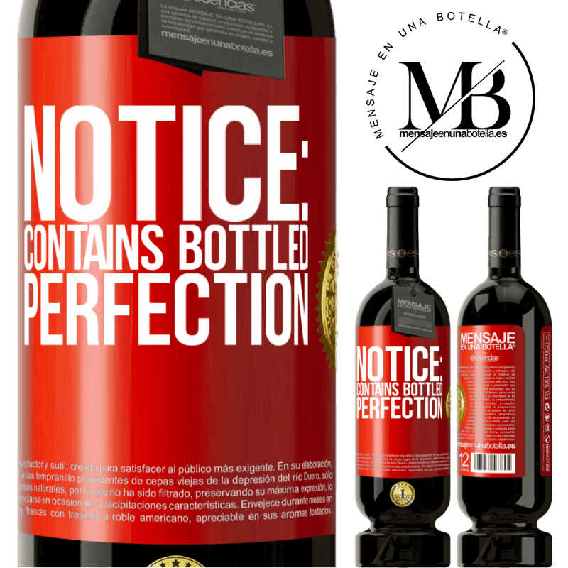 29,95 € Free Shipping | Red Wine Premium Edition MBS® Reserva Notice: contains bottled perfection Red Label. Customizable label Reserva 12 Months Harvest 2013 Tempranillo