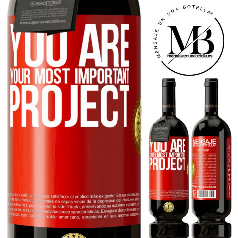 29,95 € Free Shipping | Red Wine Premium Edition MBS® Reserva You are your most important project Red Label. Customizable label Reserva 12 Months Harvest 2013 Tempranillo
