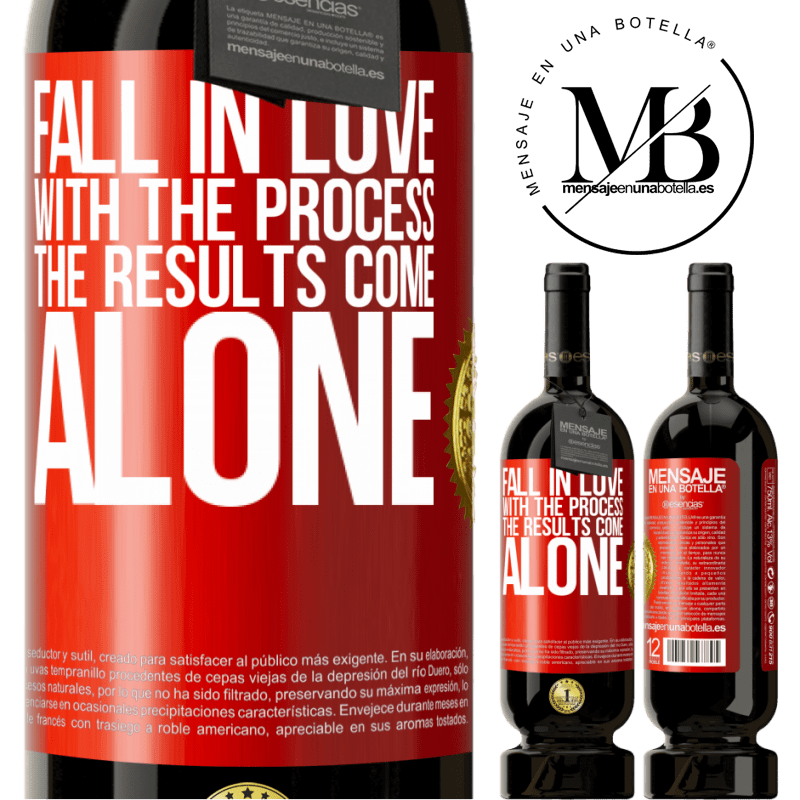 29,95 € Free Shipping | Red Wine Premium Edition MBS® Reserva Fall in love with the process, the results come alone Red Label. Customizable label Reserva 12 Months Harvest 2013 Tempranillo