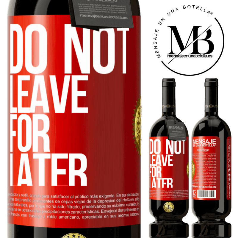 29,95 € Free Shipping | Red Wine Premium Edition MBS® Reserva Do not leave for later Red Label. Customizable label Reserva 12 Months Harvest 2013 Tempranillo