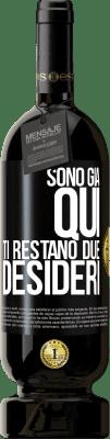 29,95 € Spedizione Gratuita   Vino rosso Edizione Premium MBS® Reserva Sono qui Hai due desideri Etichetta Nera. Etichetta personalizzabile Reserva 12 Mesi Raccogliere 2013 Tempranillo