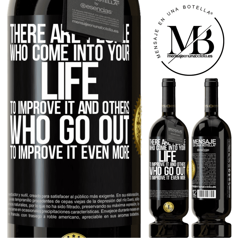 29,95 € Free Shipping | Red Wine Premium Edition MBS® Reserva There are people who come into your life to improve it and others who go out to improve it even more Black Label. Customizable label Reserva 12 Months Harvest 2013 Tempranillo