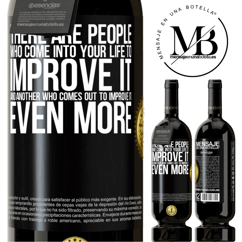 29,95 € Free Shipping | Red Wine Premium Edition MBS® Reserva There are people who come into your life to improve it and another who comes out to improve it even more Black Label. Customizable label Reserva 12 Months Harvest 2013 Tempranillo