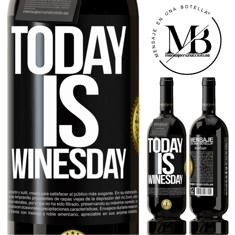 29,95 € Free Shipping | Red Wine Premium Edition MBS® Reserva Today is winesday! Black Label. Customizable label Reserva 12 Months Harvest 2013 Tempranillo