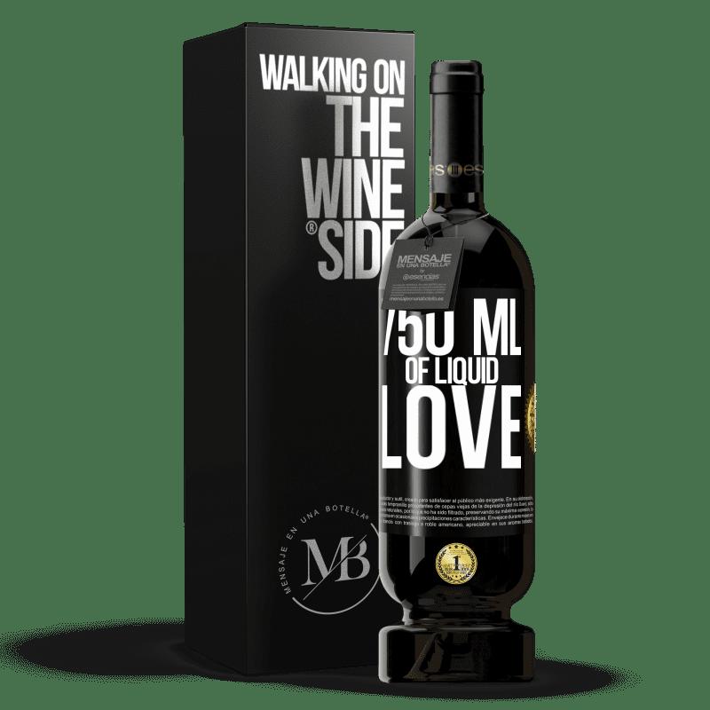29,95 € Free Shipping | Red Wine Premium Edition MBS® Reserva 750 ml of liquid love Black Label. Customizable label Reserva 12 Months Harvest 2013 Tempranillo