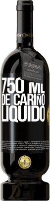 29,95 € Envío gratis | Vino Tinto Edición Premium MBS® Reserva 750 ml. de cariño líquido Etiqueta Negra. Etiqueta personalizable Reserva 12 Meses Cosecha 2013 Tempranillo