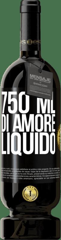 29,95 € Spedizione Gratuita | Vino rosso Edizione Premium MBS® Reserva 750 ml di amore liquido Etichetta Nera. Etichetta personalizzabile Reserva 12 Mesi Raccogliere 2013 Tempranillo